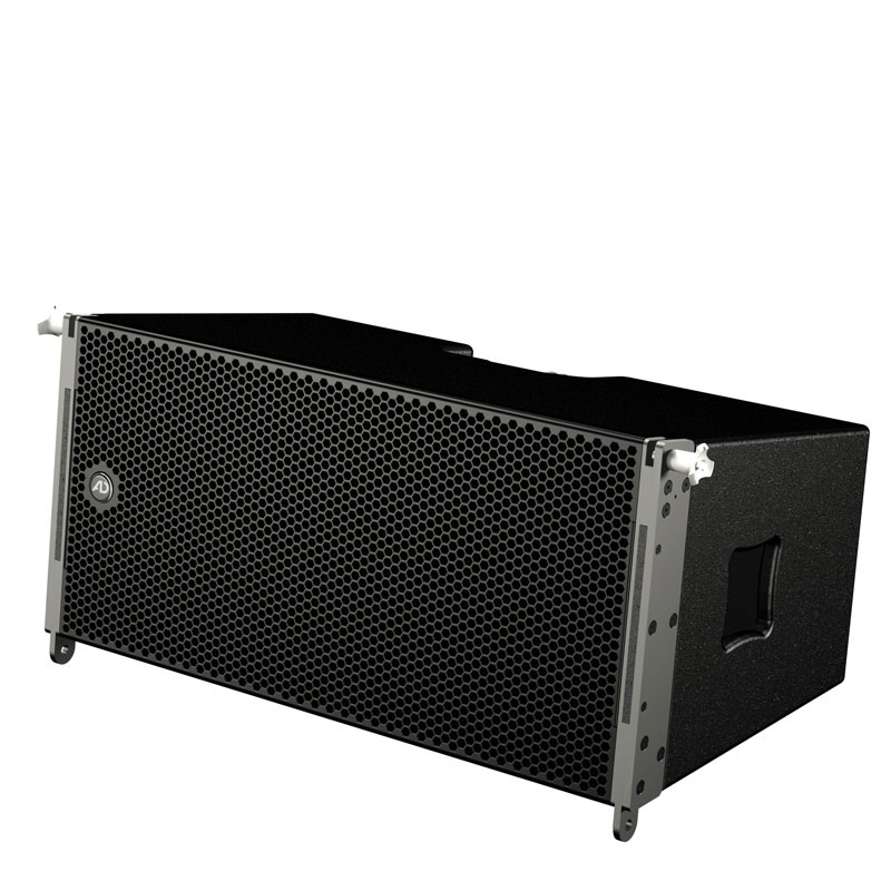 The TouringLine loudspeaker performs its scalable service in line array or groundstack and can be used for events of 1,000 - 15,000 people.
