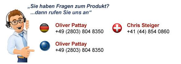 Produkt Support Hotline für Österreich, Schweiz und Deutschland