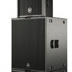 Combine a STIUM speaker in the Groundstack with two 18 inch touring subwoofers