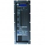NT3-K4 active module with 4000 watt power distributed on three channels (1x bass, 2x medium high)
