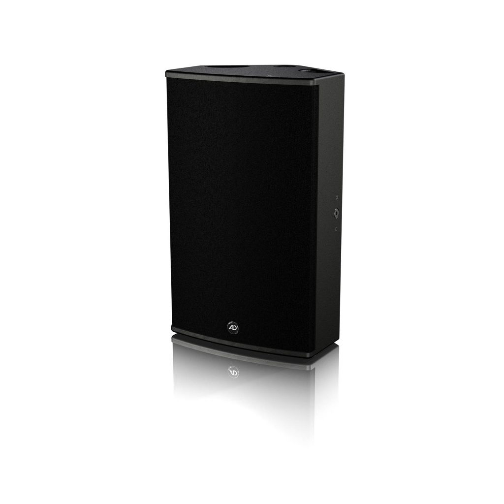 The i.Flex12.2 loudspeaker, suitable for fixed installations, is controlled by a built-in passive crossover