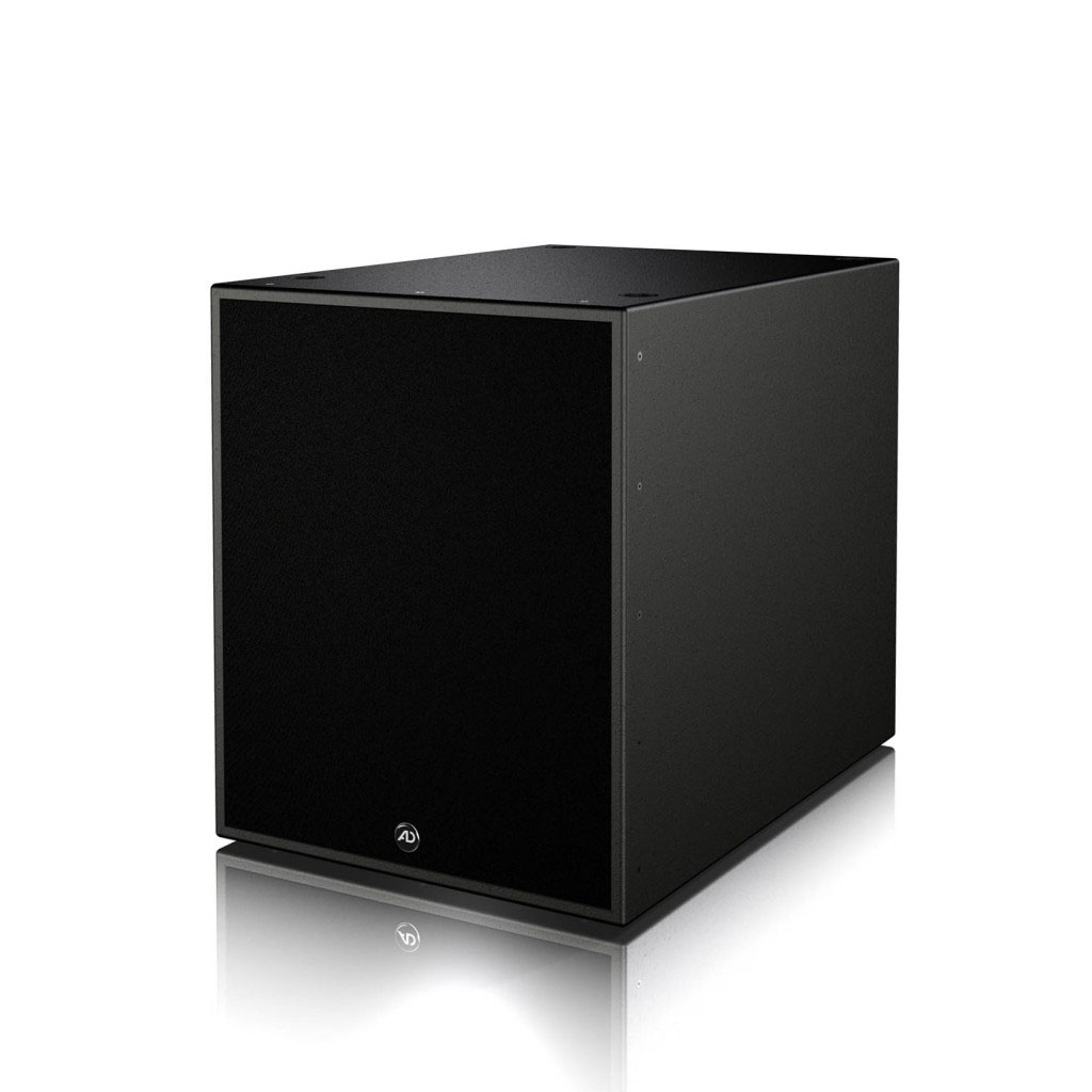 The bass reflex loudspeaker i.Flex18B has an 18 inch long stroke loudspeaker