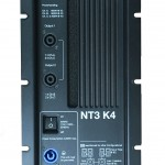 Active module NT3-K4 with 4000 watt power distributed on three channels
