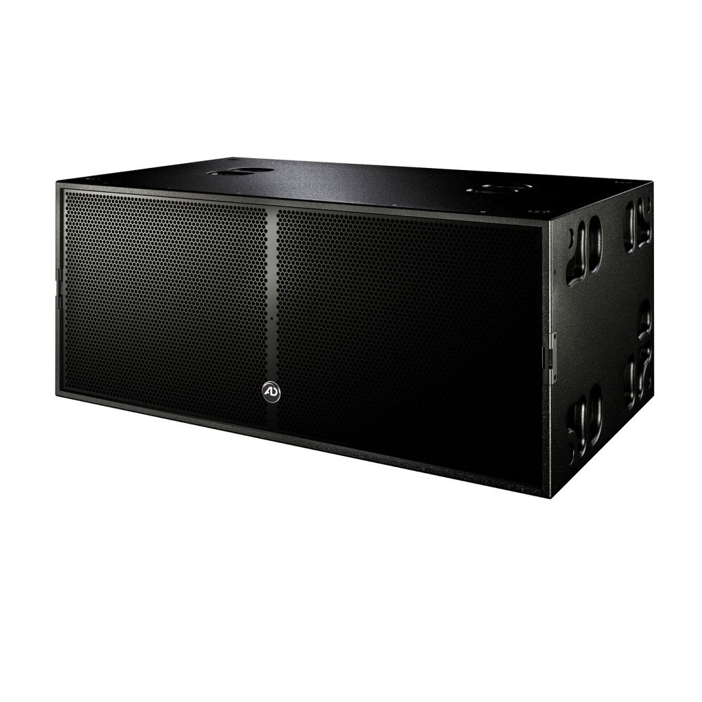 "The Touringinfra is a large format double 18"" subwoofer with two neodymium drivers of the latest generation"