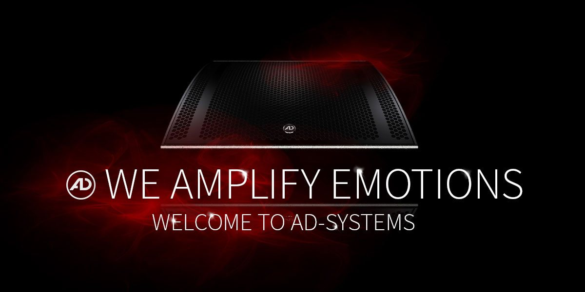 Welcome to AD-Systems - your professional loudspeaker manufacturer