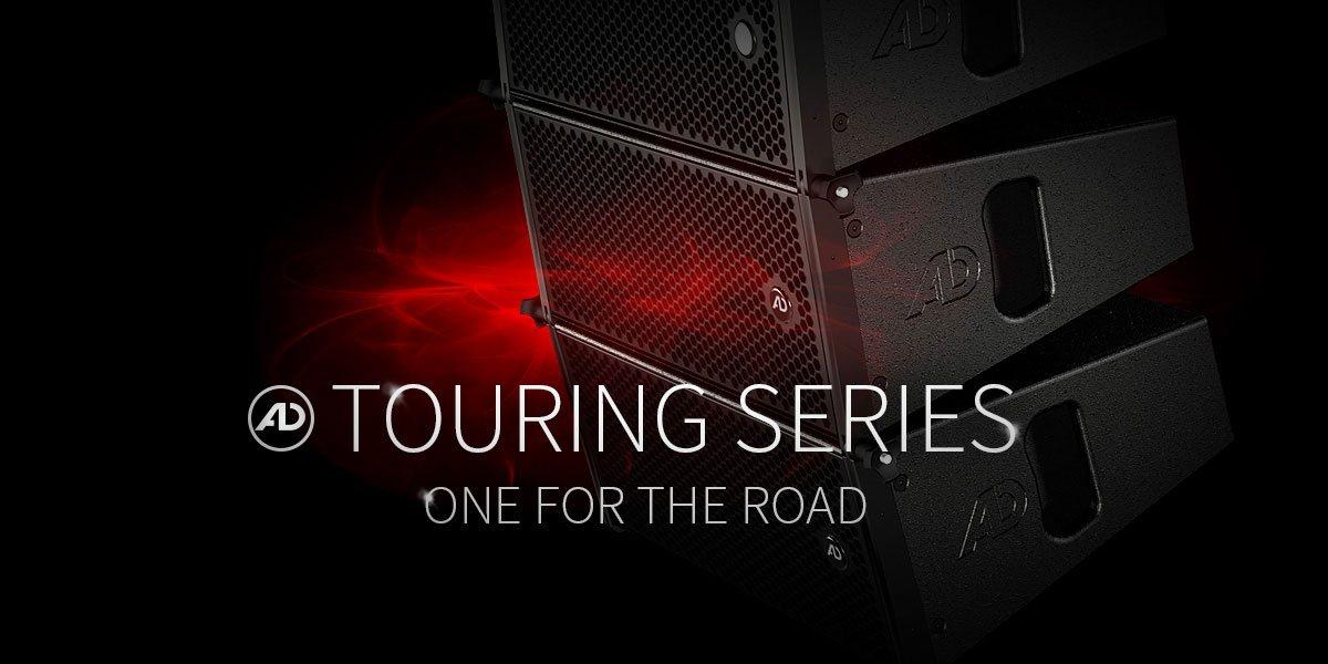 Touring Modellserie - roadtaugliche Audiosysteme mit bestmöglicher Audioqualität