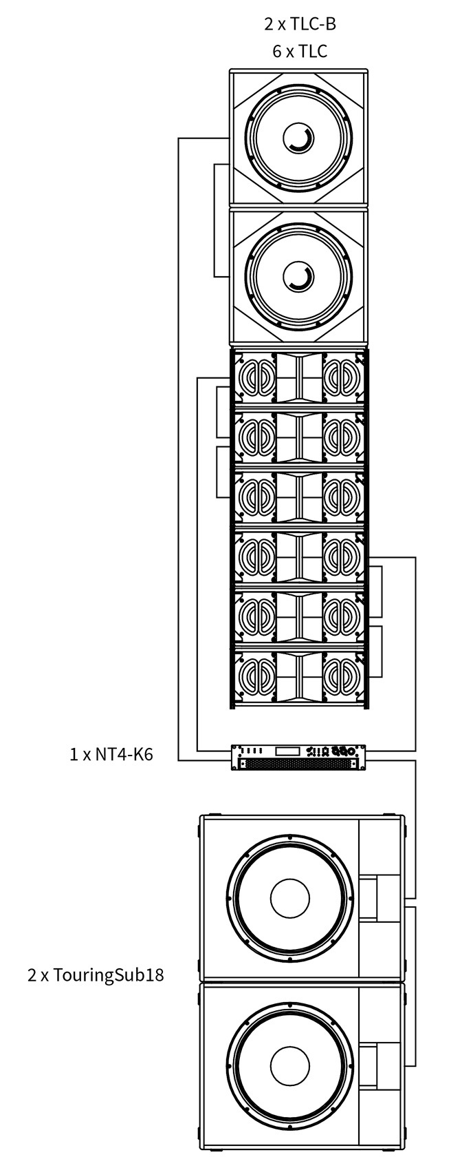 TouringLine Compact Bass - Bassextension for TLC Line-Arrays