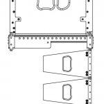 Anwendungsbeispiel Linearray bestehend aus TLC-Modulen und Subwoofer als Flugbass
