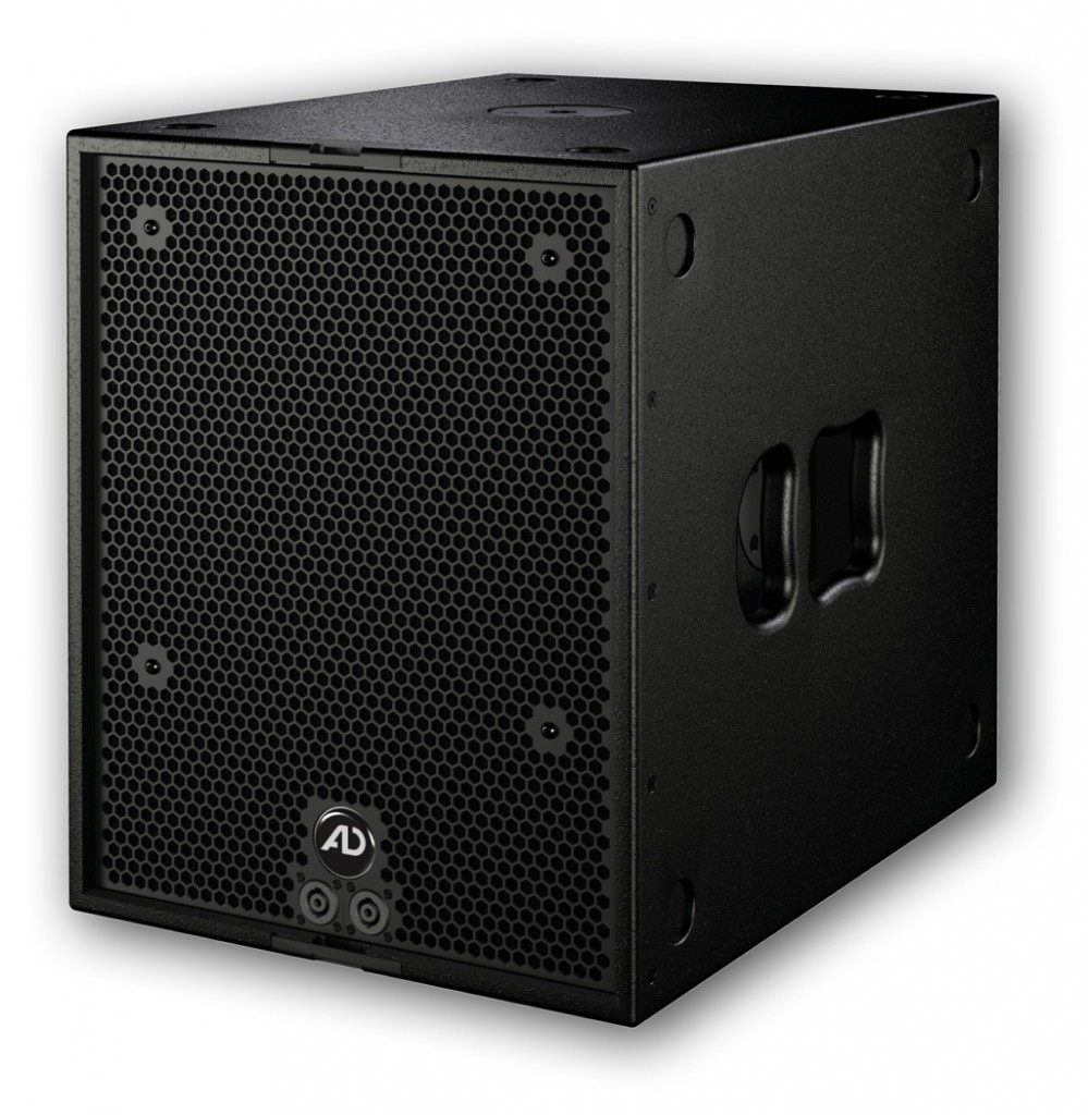 The TouringSub15 is a typical touring subwoofer with 15 inch neodymium loudspeakers and can be used in the sub- and infra mode