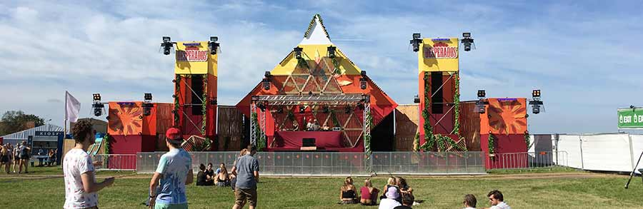 Panoramabild vom Nazomeren Festival 2016