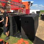 Doppel-Subwoofer Touringinfra in Endfired Anordnung