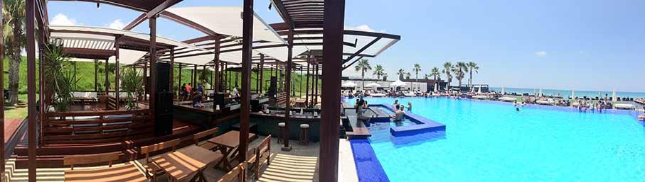 Beachparty im La Suite-Oceana Libanon