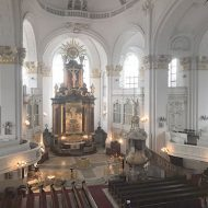 Church ship of St. Michael's Church in Hamburg with AD-Systems sound technology