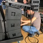 LineArray modules in Dolly