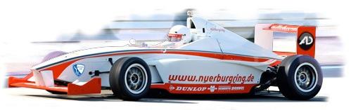 AD-Systems unterwegs im Formel BMW auf dem Nürburgring
