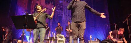 Gregor Meyle, Mark Forster und Bühnemonitor Touringwedge12