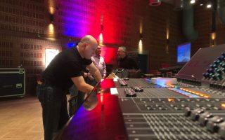 Ken Hutton at work - Roadshow Hamburg