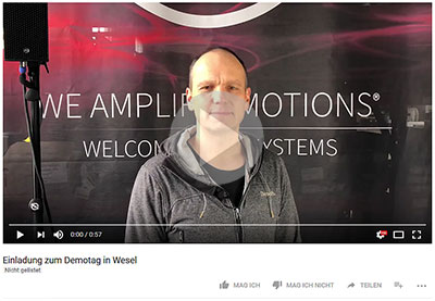 Youtube Dummy Einladung Demotag