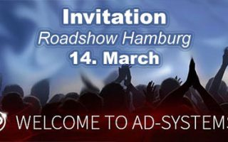 invitation to our roadshow in hamburg with touringseries and SGM