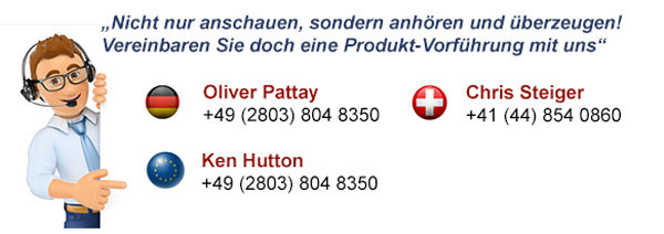 Lautsprecher Produkt-Praesentations Hotline