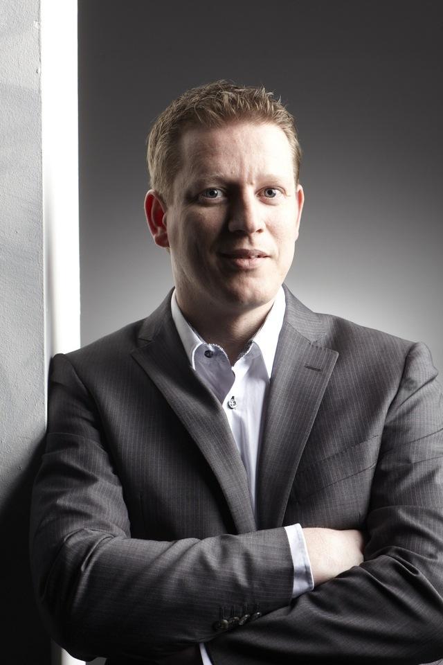 Porträt von Richard Grevelink CEO von AV Integrate