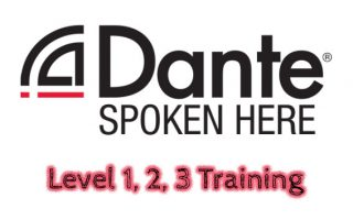 Dante Level 1 2 3 Training 2020